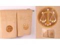 Набор подарочный для бани Santalino Комплект Весы, золото
