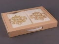 Набор подарочный для бани Santalino Комплект Золотой вензель