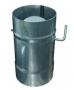 Дымоход Шибер поворотный 130мм (нержавейка 0,5мм)