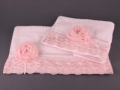 Набор подарочный для бани Santalino Комплект Розалина розовый