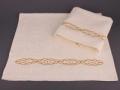 Набор подарочный для бани Santalino Комплект Золотая цепь, шампань
