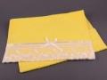Полотенце Santalino Валенсия, лимонное