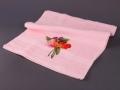 Полотенце Santalino Анютины глазки, розовое