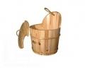 Запарник 25 литров с пластиковой вставкой, с крышкой, сосна Банные штучки (36009)
